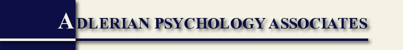 Adlerian Psychology Associates